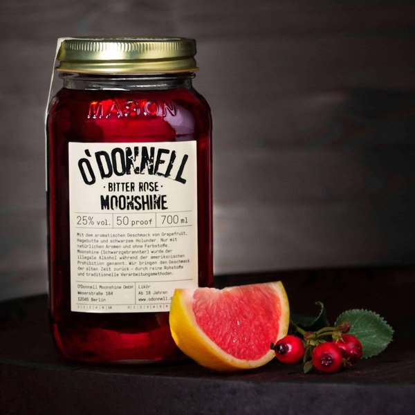 O'Donnell Moonshine Bitter Rose 700 ml