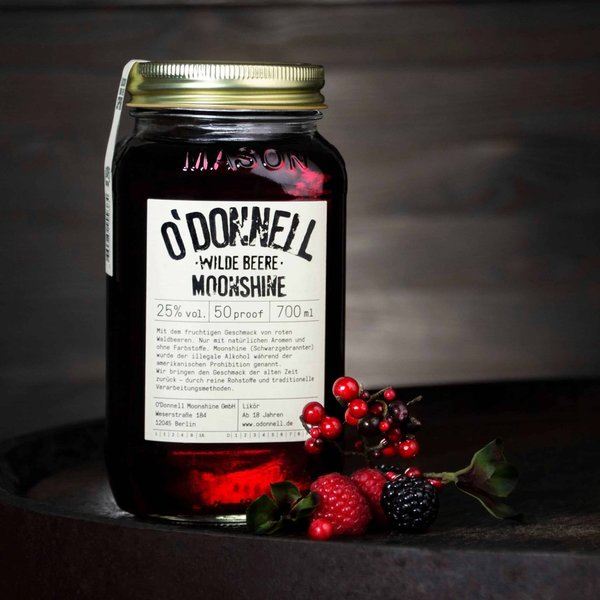 O'Donnell Moonshine Wilde Beere 700 ml