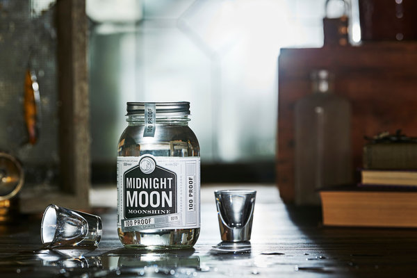 Junior Johnson Midnight Moon Straight 40 % vol. 0,35l (1 l = 56,86 €)