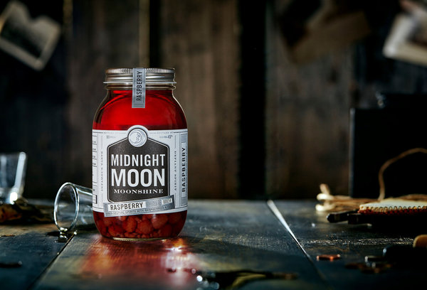 Junior Johnson Midnight Moon Raspberry 40 % vol. 0,35 l (1 l = 56,86 €)