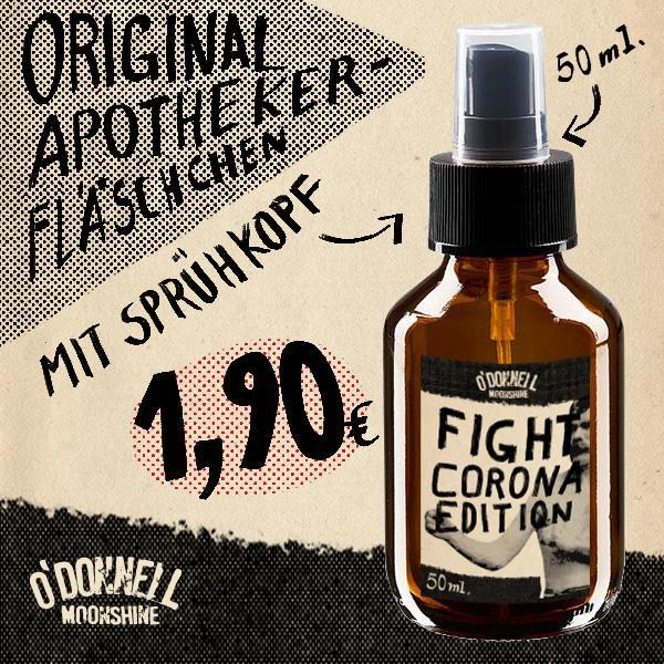 O'Donnell Sprühfläschchen 50ml - Fight-Corona-Edition